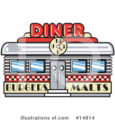 Diner Clipart #14814 by Andy Nortnik