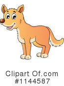 Royalty-Free (RF) Dingo Clipart Illustration #1144587