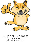 Dingo Clipart #1281323 - Illustration by Dennis Holmes Designs