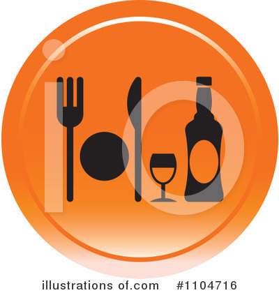 Dining Clipart #1104716 by Lal Perera
