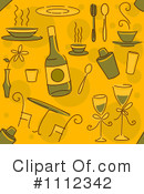 Dining Clipart #1112342 by BNP Design Studio