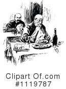 Royalty-Free (RF) Dining Clipart Illustration #1119787