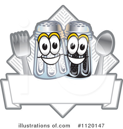 Salt Shaker Clipart #1120147 by Toons4Biz