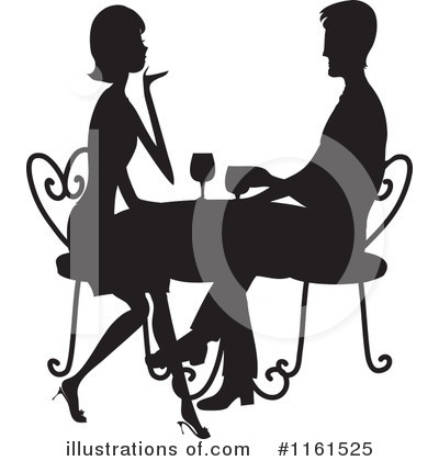 Restaurant Clipart #1161525 by Maria Bell