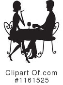 Dining Clipart #1161525 by Maria Bell