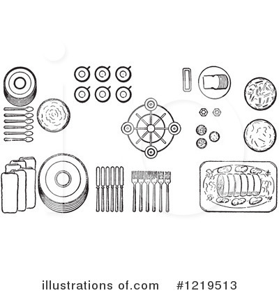 Dining Clipart #1219513 by Picsburg