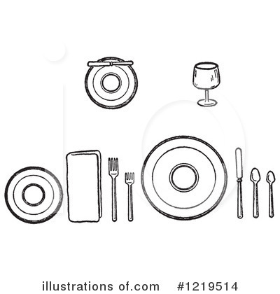 Dining Clipart #1219514 by Picsburg