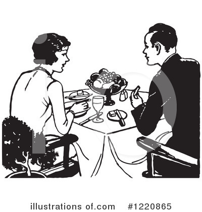 Couple Clipart #1220865 by Picsburg