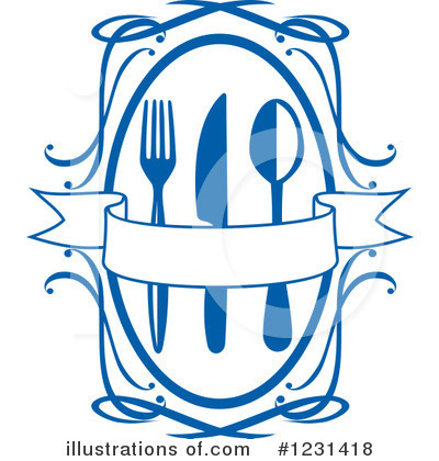 Restaurant Clipart #1231418 by Vector Tradition SM