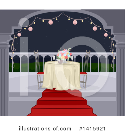Dining Clipart #1415921 by BNP Design Studio