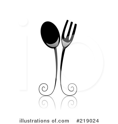 Royalty-Free (RF) Dining Clipart Illustration by BNP Design Studio - Stock Sample #219024