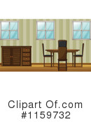 Dining Room Clipart #1159732 by Graphics RF