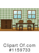 Dining Room Clipart #1159733 by Graphics RF