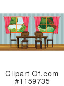 Dining Room Clipart #1159735 by Graphics RF