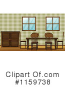 Dining Room Clipart #1159738 by Graphics RF