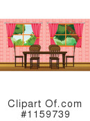 Dining Room Clipart #1159739 by Graphics RF