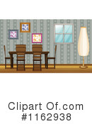 Dining Room Clipart #1162938 by Graphics RF