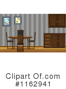 Dining Room Clipart #1162941 by Graphics RF