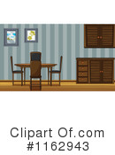 Dining Room Clipart #1162943 by Graphics RF