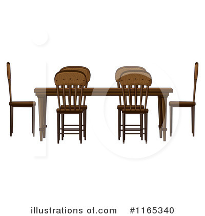 Furniture Clipart #1165340 by Graphics RF