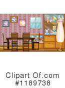 Dining Room Clipart #1189738 by Graphics RF