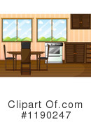 Dining Room Clipart #1190247 by Graphics RF