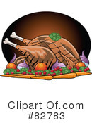 Royalty-Free (RF) Dinner Clipart Illustration #82783