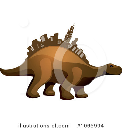 Dinosaur Clipart #1065994 by Vector Tradition SM