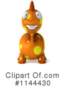 Royalty-Free (RF) Dinosaur Clipart Illustration #1144430