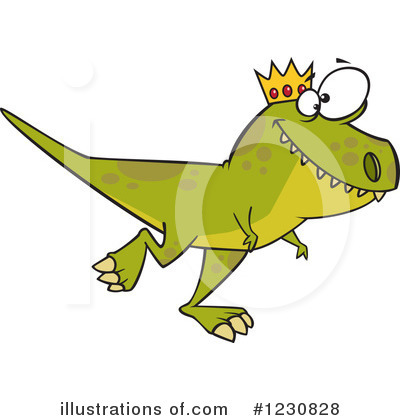 Dino Clipart #1230828 by toonaday