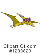Dinosaur Clipart #1230829 by toonaday