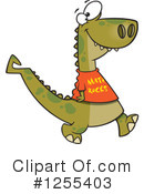 Dinosaur Clipart #1255403 by toonaday