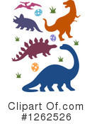 Dinosaur Clipart #1262526 by BNP Design Studio