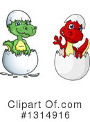 Dinosaur Clipart #1314916 by Vector Tradition SM