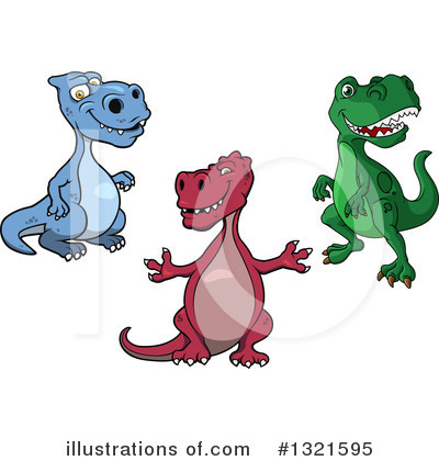 Dinosaur Clipart #1321595 by Vector Tradition SM