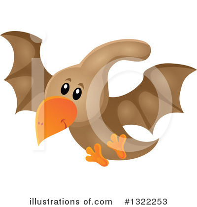 Royalty-Free (RF) Dinosaur Clipart Illustration by visekart - Stock Sample #1322253
