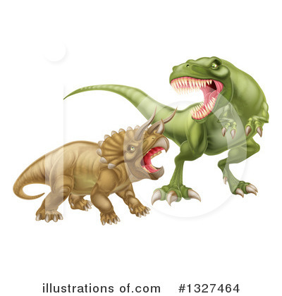 Dinosaur Clipart #1327464 by AtStockIllustration