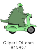 Royalty-Free (RF) Dinosaur Clipart Illustration #13467