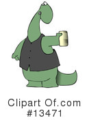 Royalty-Free (RF) dinosaur Clipart Illustration #13471