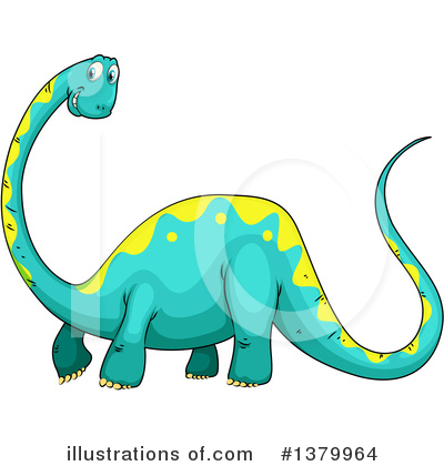 Dinosaur Clipart #1379964 by Graphics RF