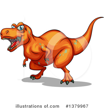 Dinosaur Clipart #1379967 by Graphics RF