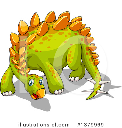 Dinosaur Clipart #1379969 by Graphics RF