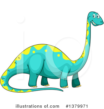 Dinosaur Clipart #1379971 by Graphics RF