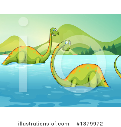 Apatosaurus Clipart #1379972 by Graphics RF