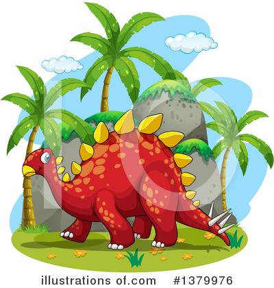 Dinosaur Clipart #1379976 by Graphics RF