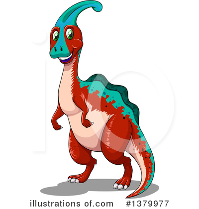 Dinosaur Clipart #1379977 by Graphics RF