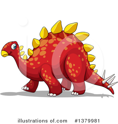 Dinosaur Clipart #1379981 by Graphics RF