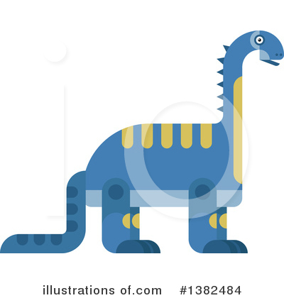 Dinosaur Clipart #1382484 by Vector Tradition SM
