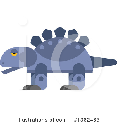 Dinosaur Clipart #1382485 by Vector Tradition SM