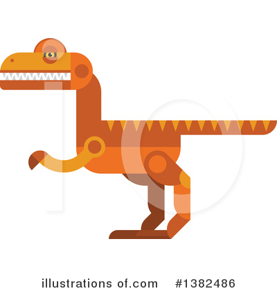 Dinosaur Clipart #1382486 by Vector Tradition SM